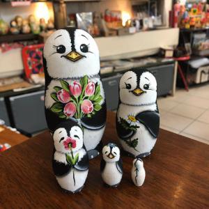 マトリョーシカ ペンギン2 コブロフ工房 オレイシア|johnnyjumpup