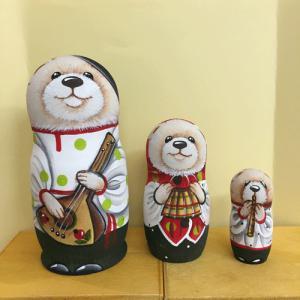 マトリョーシカ クマ2 コブロフ工房 オレイシヤ|johnnyjumpup