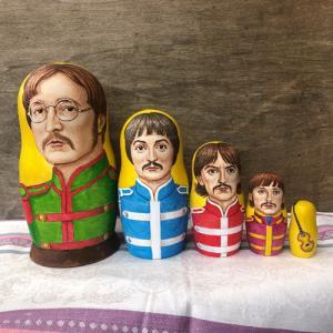 マトリョーシカ Beatles special|johnnyjumpup