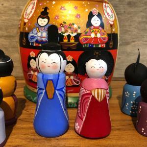 雛人形 マトリョーシカ 二キーティン工房 ひな祭り|johnnyjumpup|03