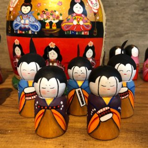 雛人形 マトリョーシカ 二キーティン工房 ひな祭り|johnnyjumpup|06