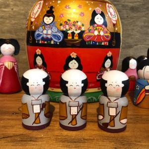 雛人形 マトリョーシカ 二キーティン工房 ひな祭り|johnnyjumpup|07