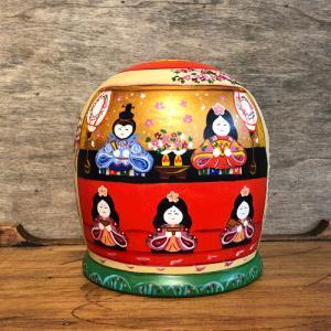 雛人形 マトリョーシカ 二キーティン工房 ひな祭り|johnnyjumpup|09