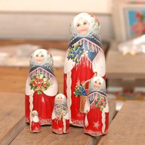 ロシアで一番と言われるコブロフ工房の中でも一番のキャリアを持つ、スベトラーナ・ニコラエワの手による2...