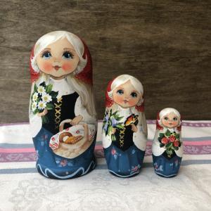 マトリョーシカ コブロフ工房 スベトラーナ・ニコラエワ 32|johnnyjumpup