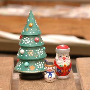 マトリョーシカ クリスマスツリー型1|johnnyjumpup