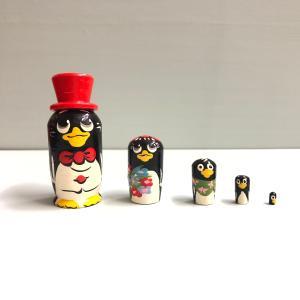 マトリョーシカ マイクロ ペンギン|johnnyjumpup