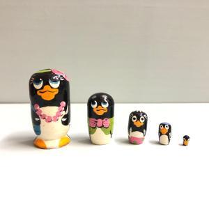 マトリョーシカ マイクロ ペンギン2|johnnyjumpup