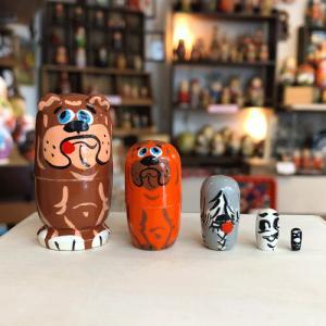 マトリョーシカ マイクロ 犬1|johnnyjumpup