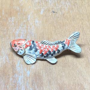 パルナートポック ブローチ 鯉のぼりブローチ johnnyjumpup