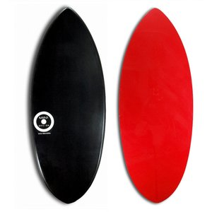 【日本製】MINI DESIGN スキムボード 201-BLACK-RED 125cm|johns