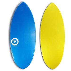 【日本製】MINI DESIGN スキムボード A3D-401 BLUE-YEL/128cm johns