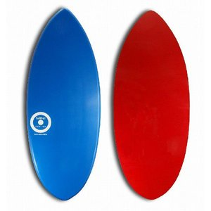 【日本製】MINI DESIGN スキムボード A3D-wt401 BLUE / RED 125cm|johns