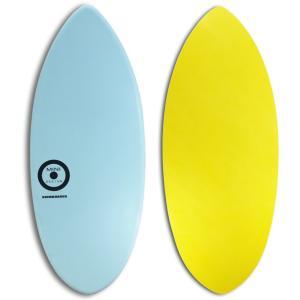 【日本製】MINI DESIGN スキムボード 401-water BLU-YEL/122cm johns