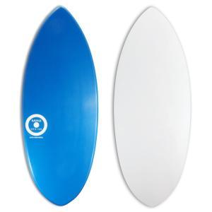 【日本製】MINI DESIGN スキムボード A3D-wt401 BLUE / WHITE 125cm|johns