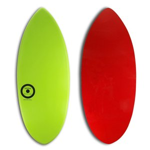 【日本製】MINI DESIGN スキムボード 502-LIM GREEN/RED 122cm|johns