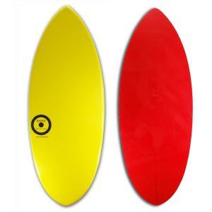 【日本製】MINI DESIGN スキムボード 601-YELLOW / RED 125cm johns