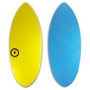 【日本製】MINI DESIGN スキムボード A3D-720 YELLOW/BLUE 128cm|johns