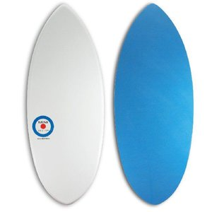 【日本製】MINI DESIGN スキムボード A3D-101 WHITE or/BLUE 125cm|johns