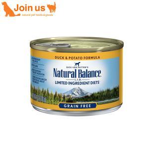 ナチュラルバランス 犬缶 ダック&ポテト 170g/6オンス ドッグ缶フード