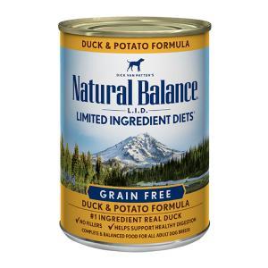 ナチュラルバランス 犬缶 ダック&ポテト 374g/13.2オンス ドッグ缶フード