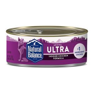 ナチュラルバランス 猫缶 インドアキャット 5.5オンス/156g キャット缶フード