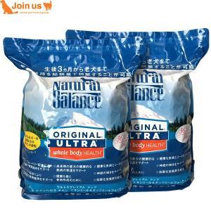 ナチュラルバランス ホールボディヘルス ドライドッグフード 24ポンド/10.9kg(12ポンド/5.45kg×2袋)ウルトラプレミアム