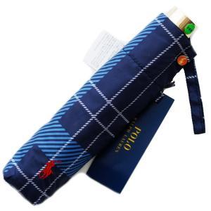 軽量カーボン骨のコンパクトタイプのお洒落なラルフローレンの折畳み傘です。 定番のタータンチェック柄。...