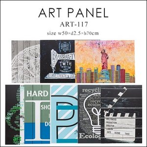 ART-117(50×2.5×70cm) アートパネル アートポスター インテリア ポスター パネル 壁掛け 風景 おしゃれ 北欧 インテリア カフェ風 絵|jonan-interior