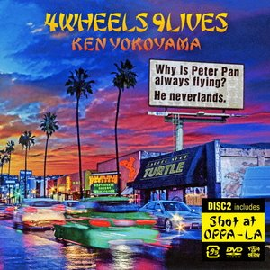 4Wheels 9Lives【CD+DVD】/Ken Yokoyama[CD+DVD]【返品種別A】|Joshin web CDDVD PayPayモール店