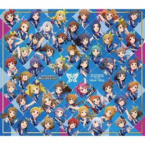 THE IDOLM@STER MILLION THE@TER WAVE 10 Glow Map/765 MILLION ALLSTARS[CD+Blu-ray]【返品種別A】