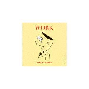 [枚数限定][限定盤]WORK(初回限定盤)/ハンバートハンバート[CD]【返品種別A】