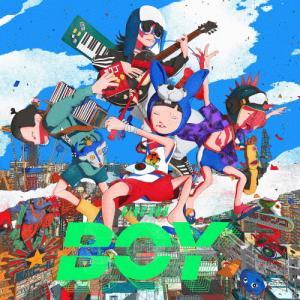 [枚数限定][限定盤][先着特典付]BOY(初回生産限定盤)【CD+ライブBlu-ray】/King Gnu[CD+Blu-ray]【返品種別A】|Joshin web CDDVD PayPayモール店