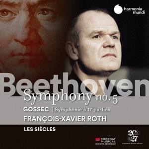 [枚数限定]ベートーヴェン:交響曲第5番『運命』,ゴセック:17声の交響曲◆/フランソワ=グザヴィエ・ロト[CD]【返品種別A】の画像