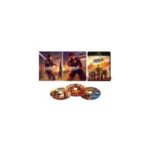 [枚数限定][限定版]ハン・ソロ/スター・ウォーズ・ストーリー MovieNEX【初回版】[2Blu-ray&DVD]/オールデン・エアエンライク[Blu-ray]【返品種別A】
