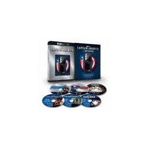 [枚数限定][限定版]キャプテン・アメリカ:4K UHD 3ムービー・コレクション(数量限定)/クリス・エヴァンス[Blu-ray]【返品種別A】 joshin-cddvd