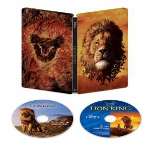 [枚数限定][限定版]ライオン・キング 4K UHD MovieNEX スチールブック(数量限定)/ドナルド・グローヴァー[Blu-ray]【返品種別A】