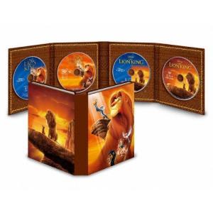 [枚数限定][限定版]ライオン・キング MovieNEXコレクション(期間限定)【2Blu-ray+2DVD】/アニメーション[Blu-ray]【返品種別A】