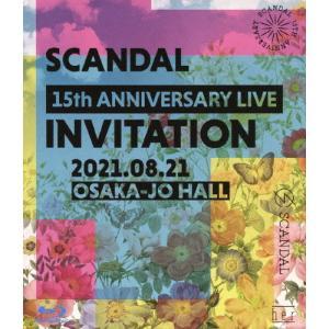 [先着特典付]SCANDAL 15th ANNIVERSARY LIVE『INVITATION』at OSAKA-JO HALL(通常盤)【Blu-ray】/SCANDAL[Blu-ray]【返品種別A】の画像