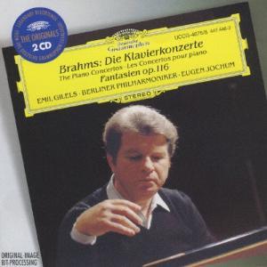 ブラームス:ピアノ協奏曲第1&2番、他/ギレリス(エミール)[CD]【返品種別A】