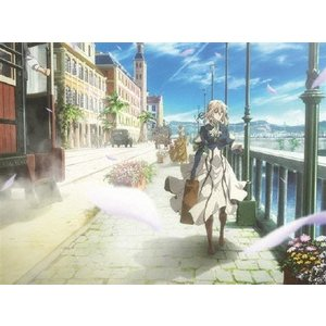 [初回仕様]ヴァイオレット・エヴァーガーデン1/アニメーション[Blu-ray]【返品種別A】|joshin-cddvd