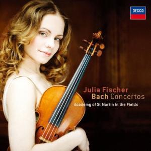 J.S.バッハ:ヴァイオリン協奏曲/フィッシャー(ユリア)[SHM-CD]【返品種別A】