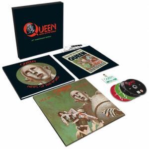 [枚数限定][限定盤]世界に捧ぐ(40周年記念スーパー・デラックス・エディション)/クイーン[SHM-CD+DVD]【返品種別A】|joshin-cddvd