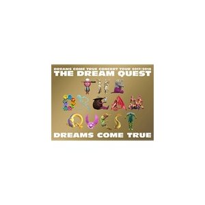 DREAMS COME TRUE CONCERT TOUR 2017/2018 -THE DREAM QUEST-【DVD】/DREAMS COME TRUE[DVD]【返品種別A】|joshin-cddvd