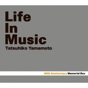 Tatsuhiko Yamamoto 40th Memorial Box「LIFE IN MUSIC」/山本達彦[CD+Blu-ray]【返品種別A】|joshin-cddvd