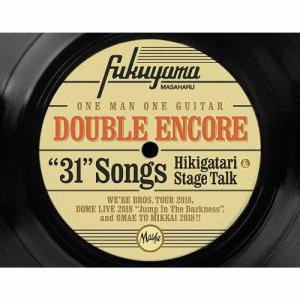 [枚数限定][限定盤]DOUBLE ENCORE(初回限定盤)【4CD+Blu-ray】/福山雅治[CD+Blu-ray]【返品種別A】 joshin-cddvd