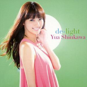 de-light(DVD付/ジャケットB)/新川優愛[CD+DVD]【返品種別A】