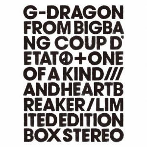 [枚数限定][限定盤]COUP D'ETAT[+ ONE OF A KIND & HEARTBREAKER](初回生産限定盤)/G-DRAGON(from BIGBANG)[CD+DVD]【返品種別A】 joshin-cddvd