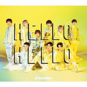 [枚数限定][限定盤][先着特典付]HELLO HELLO(初回盤A)/Snow Man[CD+DVD]【返品種別A】|Joshin web CDDVD PayPayモール店