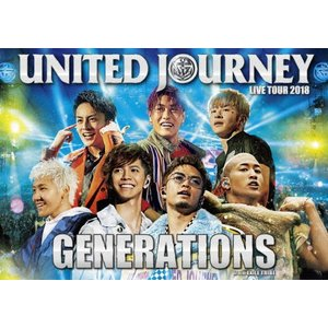 GENERATIONS LIVE TOUR 2018 UNITED JOURNEY【通常盤/DVD】/GENERATIONS from EXILE TRIBE[DVD]【返品種別A】|joshin-cddvd